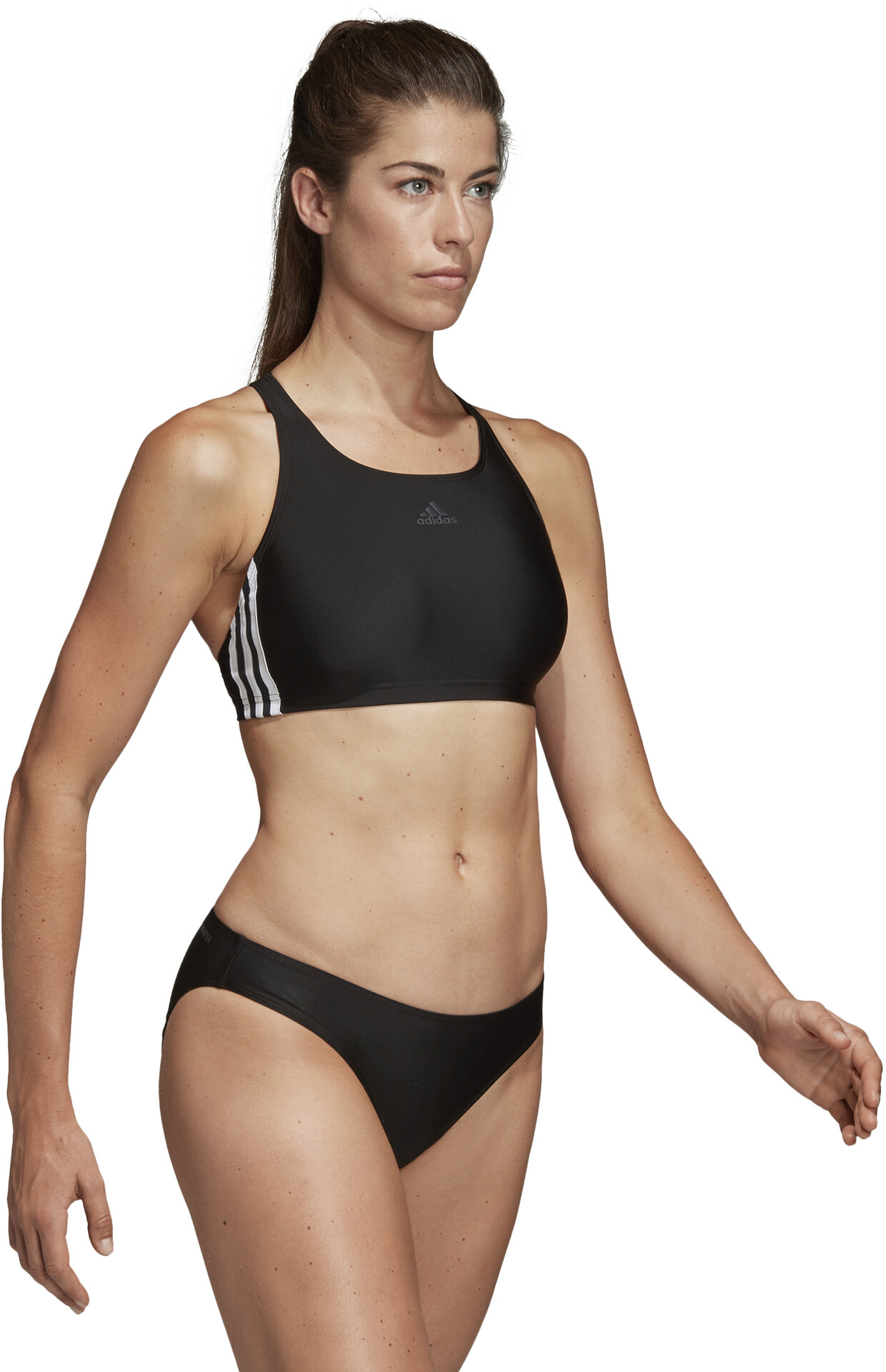 adidas Fit 3-Stripes Infinitex Bikini Dames, black